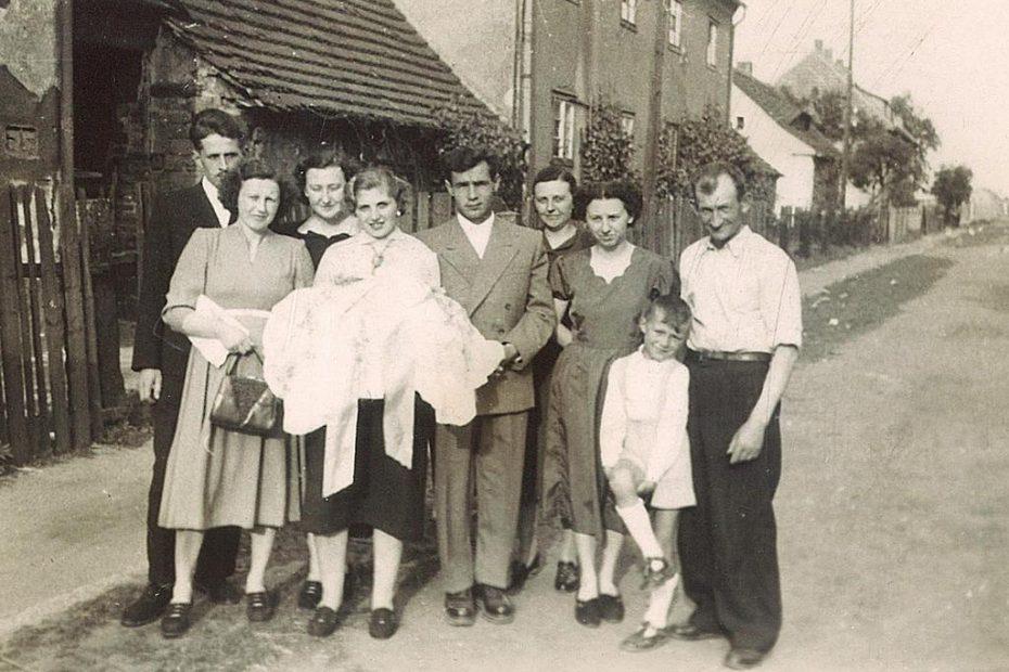 Jaworzyna-Śląska-1958-chrzciny-ul.-Jana-Pawła-II