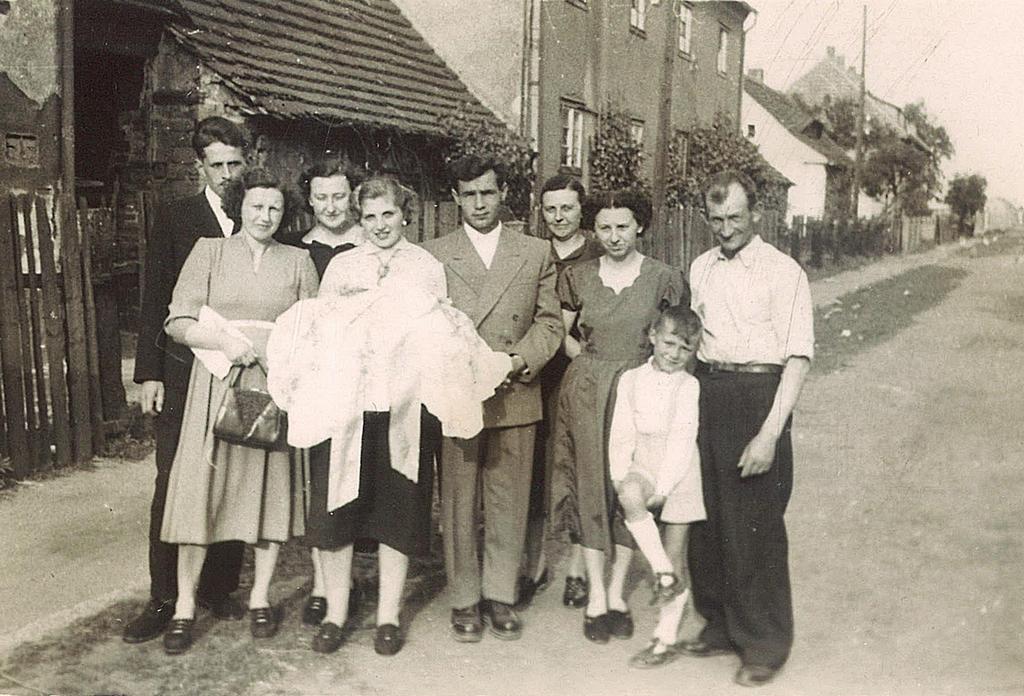 Jaworzyna Śląska ul. Jana Pawła II rok 1958