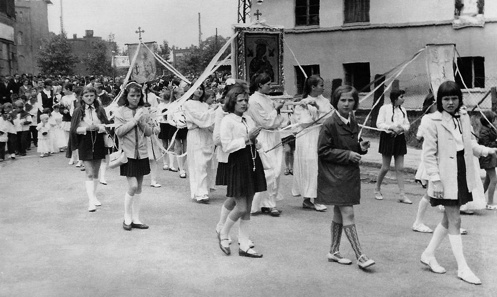 Procesja Jaworzyna Śląska 1969