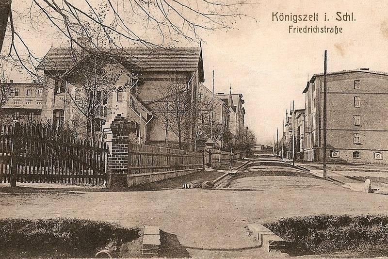 Königszelt (Jaworzyna Śląska), Friedrichstrasse (ul. Westerplatte)