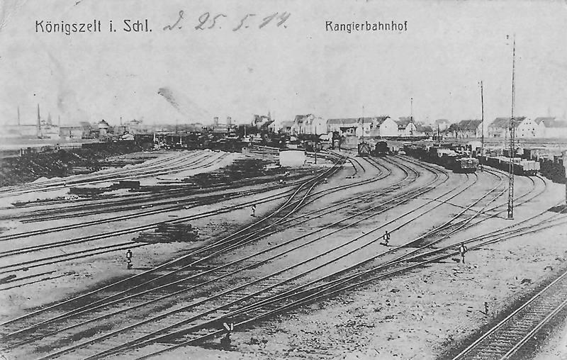 Węzeł kolejowy Königszelt (Jaworzyna Śląska)
