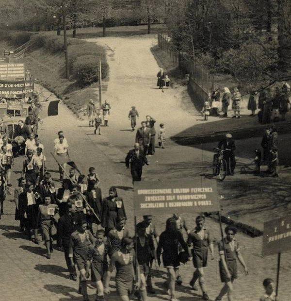 Jaworzyna Śląska pochód 1 maja