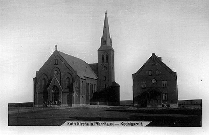 Königszelt  (Jaworzyna Śląska). Kościół katolicki.