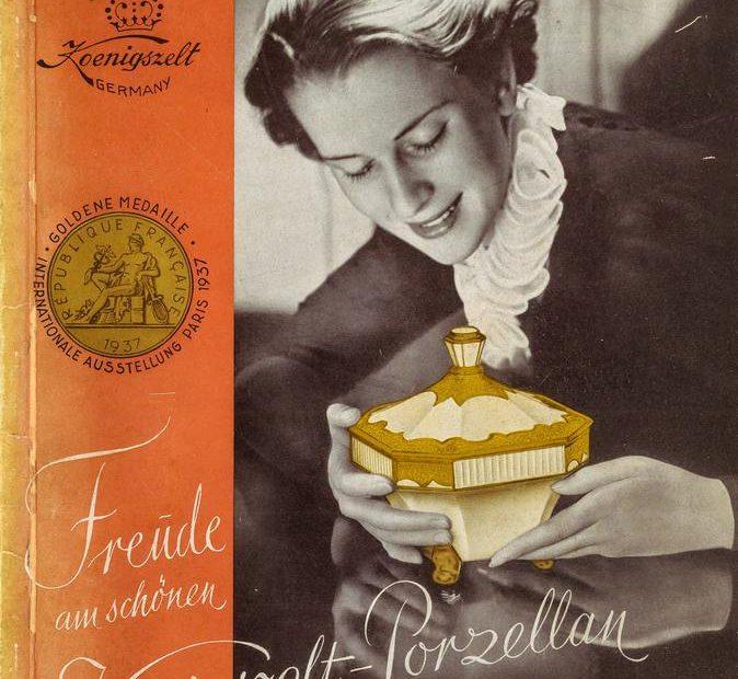 Katalog Porzellanfabrik Königszelt AG okładka