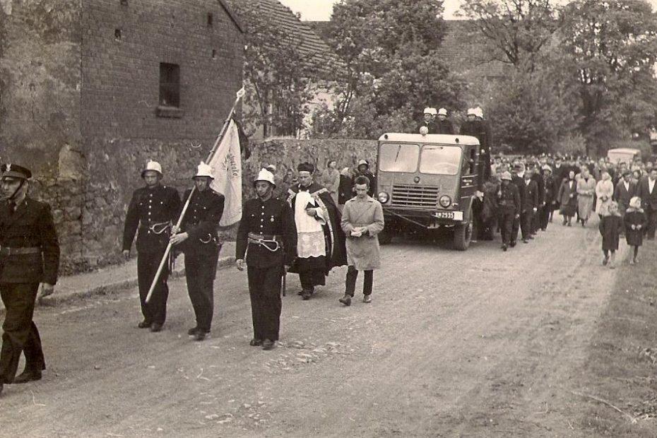 Nowice pogrzeb 1960