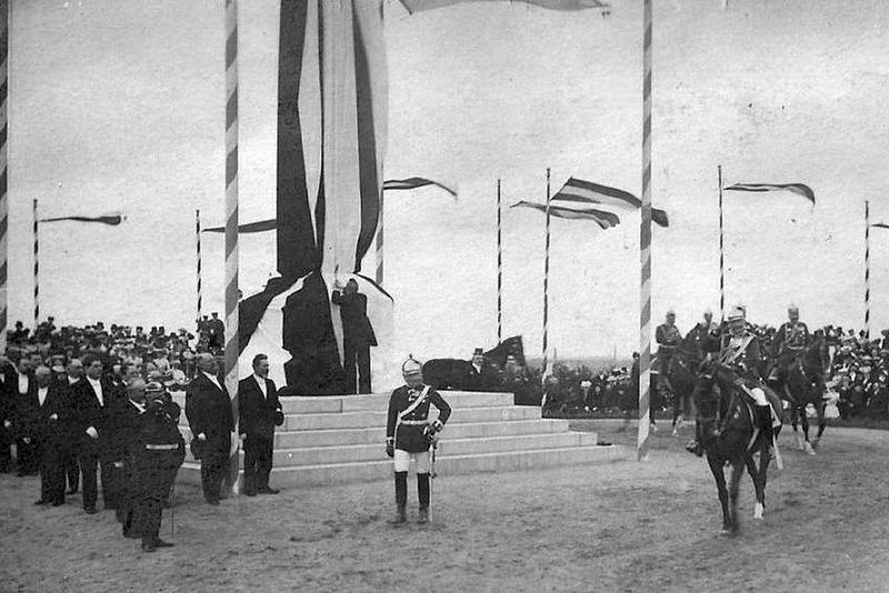 Odsłonięcie pomnika Fryderyka II Wielkiego przez cesarza Fryderyka Wilhelma II, 8 września 1906 r