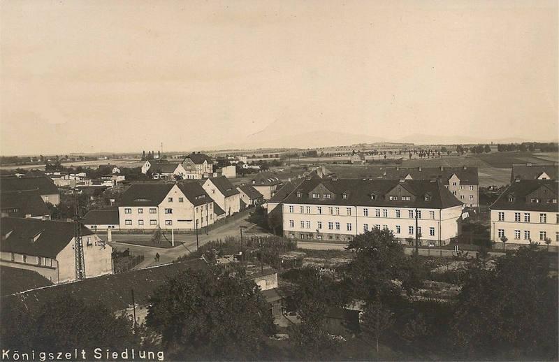 Königszelt (Jaworzyna Śląska), Nowe budynki na Paul Keller-strasse (ul. Kościuszki) oraz gen. Litzmann-strasse (ul. Jana Pawła II).