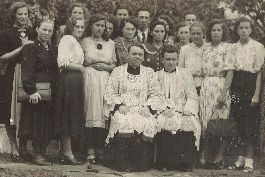 Ksiądz Jarosław Chomicki i Piotr Chomicki Jaworzyna Śląska