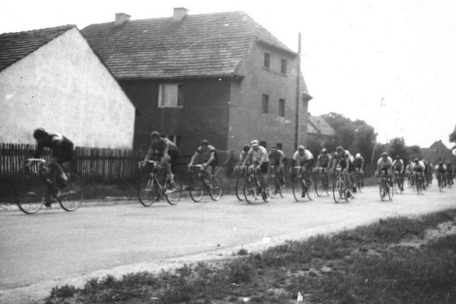 Wyścig kolarski Odrodzenia Polski, wieś Czechy, 1986