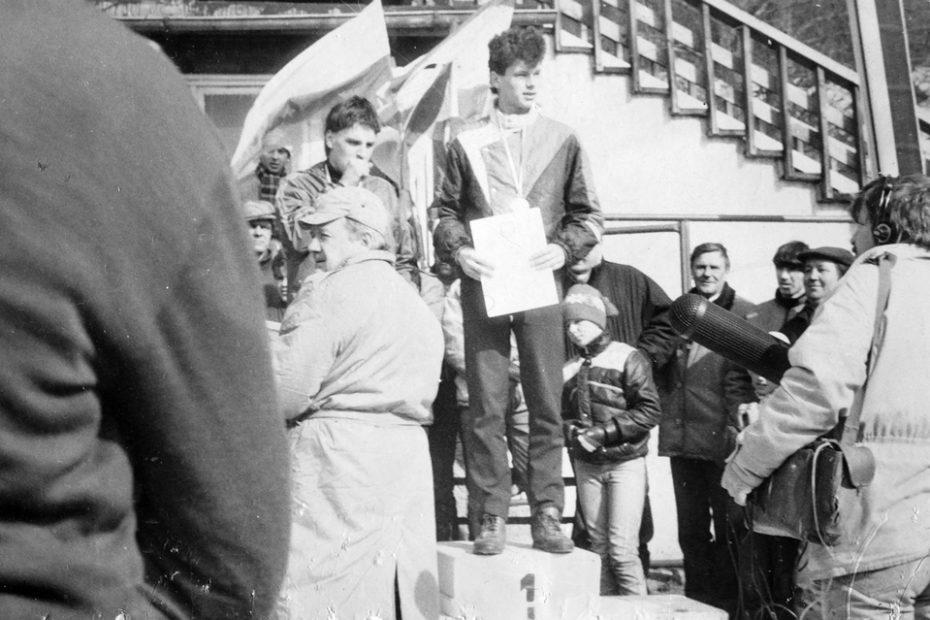 Marek Bonecki Mistrz Polski juinorów mlodszych 1988