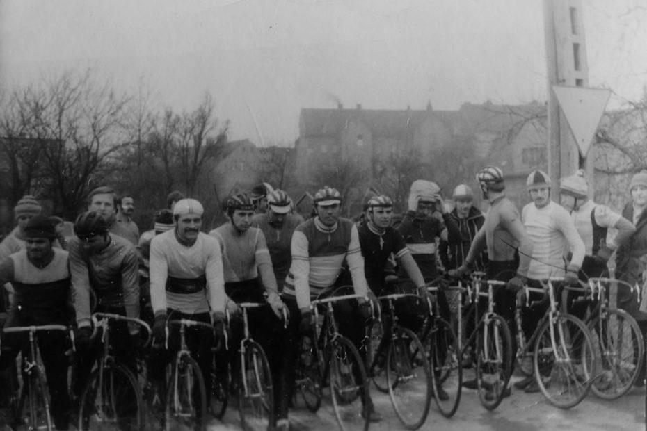Wyścig kolarstwo przełajowe jaworzyna Śląska 1985