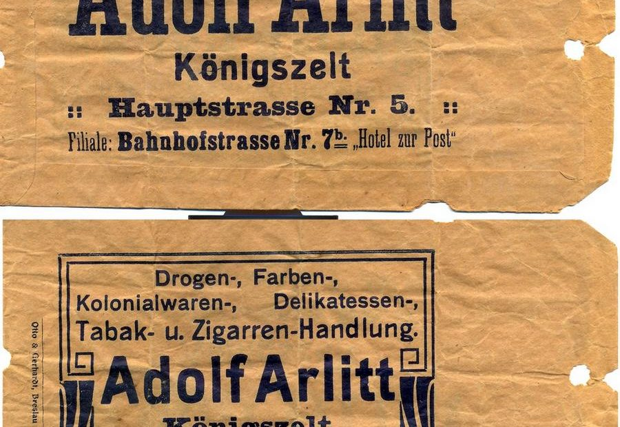Torba na zakupy Adolf Arlitt Jaworyzna Ślaska