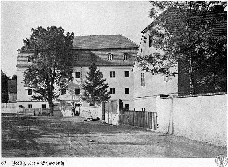 Młyn gospodarczy w miejscowości Pasieczna Zedlitz