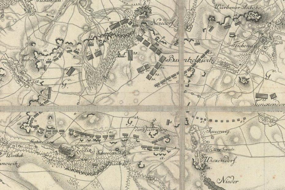 Plan obozu bolesławickiego