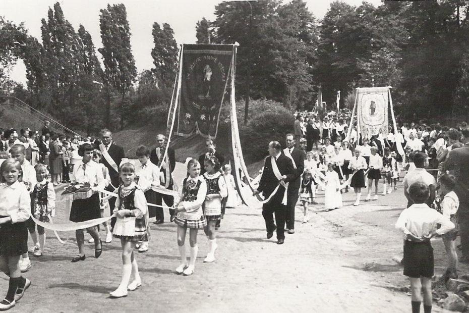 Procesja Bożęgo Ciała Jaworzyna Śląska 1966
