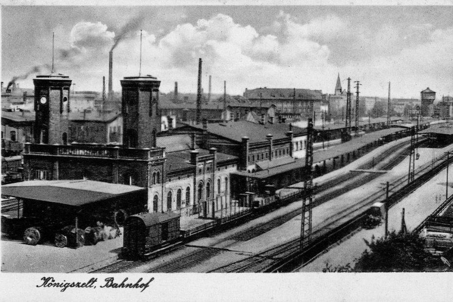 Dworzec kolejowy w Jaworzynie Śląskiej Königszelt