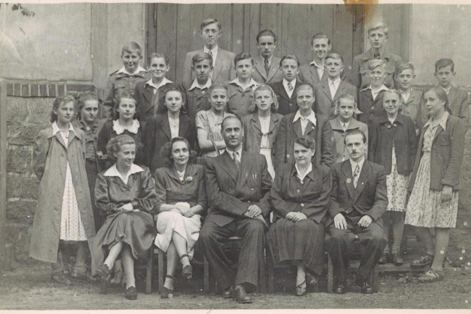 Szkoła Podstawowa Jaworzyna Ślaska 1954