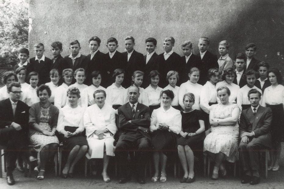 Szkoła Podstawowa Jaworzyna Śląska 1961