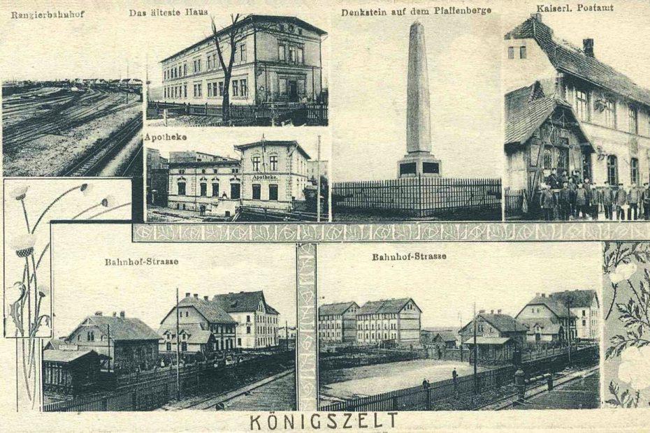 Widokówka Jaworzyna Śląska Königszelt 1910