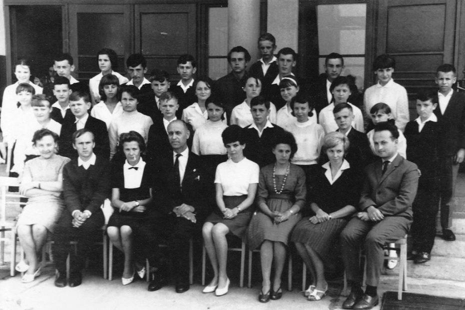 Klasa VIIc 1963 Szkoła Jaworzyna Śląska