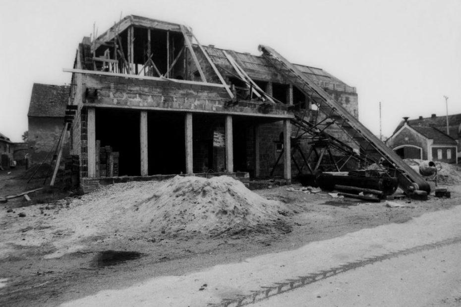 Budowa Domu Strażaka w Nowicach