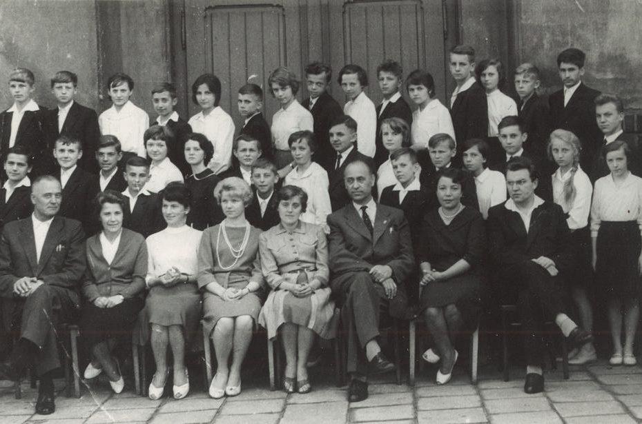 Jaworzyna Śląska Uczniowie Szkoła Podstawowa 1962