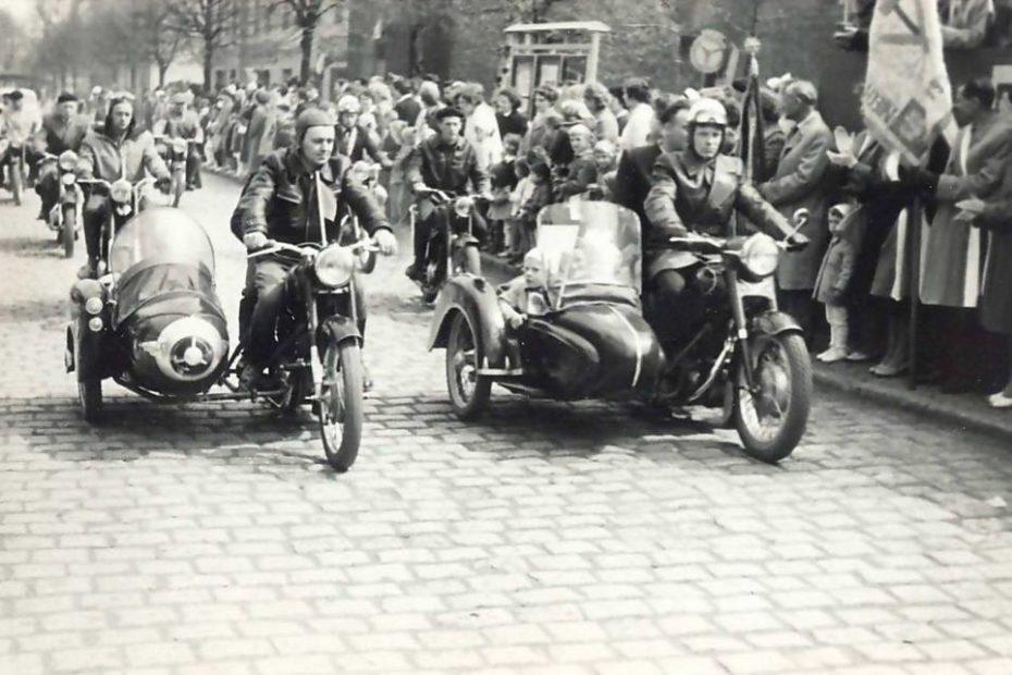 Parada motocykli Jaworzyna Śląska