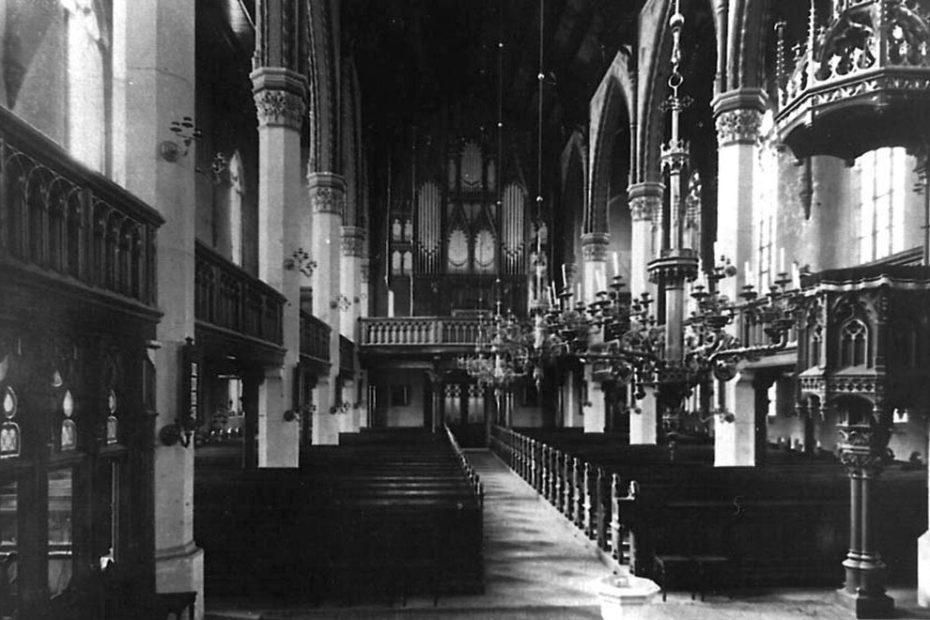 Piotrowice Świdnickie kościół ewangelicki