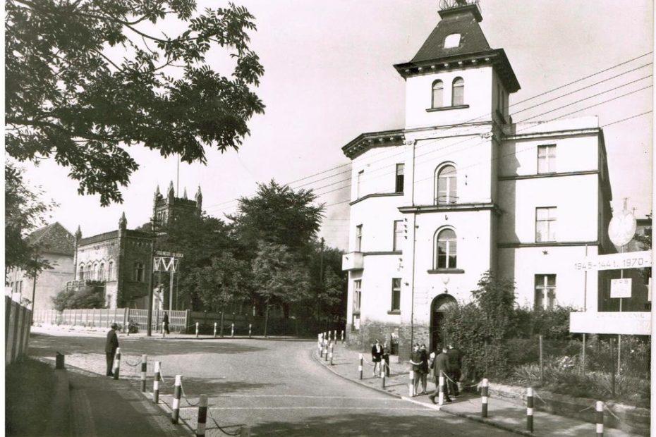 Widokówka Urząd Miejski w Jaworzynie Śląskiej 1970
