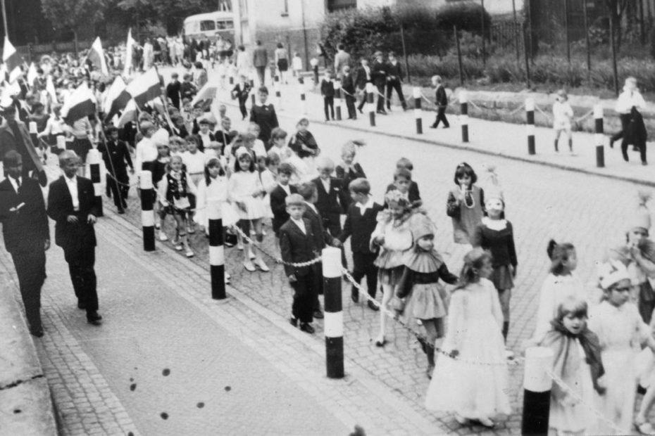 Jaworzyna Śląska 1969 Dzień Dziecka