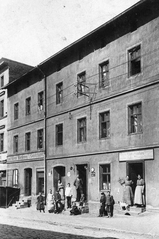 Königszelt, Hauptstrasse, 1922 rok
