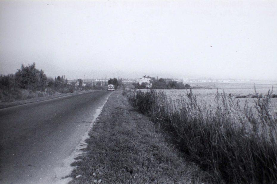 Droga Nowy Jaworów Jaworzyna Śląska lata 80. XX wieku
