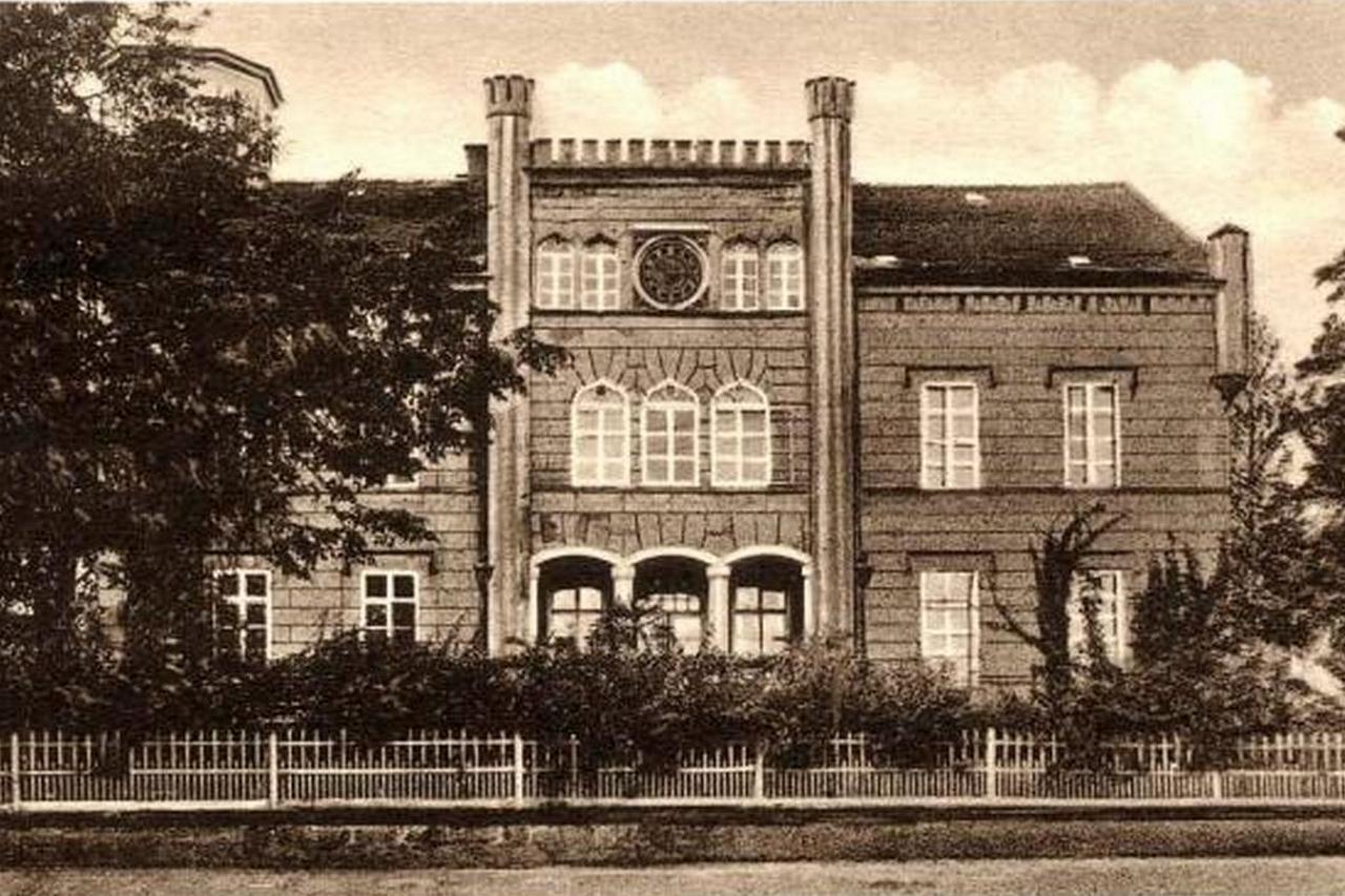 Zamek w Alt Jauernick (Stary Jaworów), lata przedwojenne