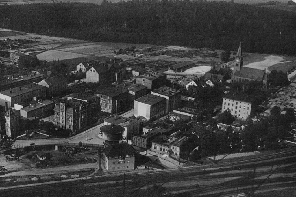 Friedrichstrasse w Königszelt, przed 1945