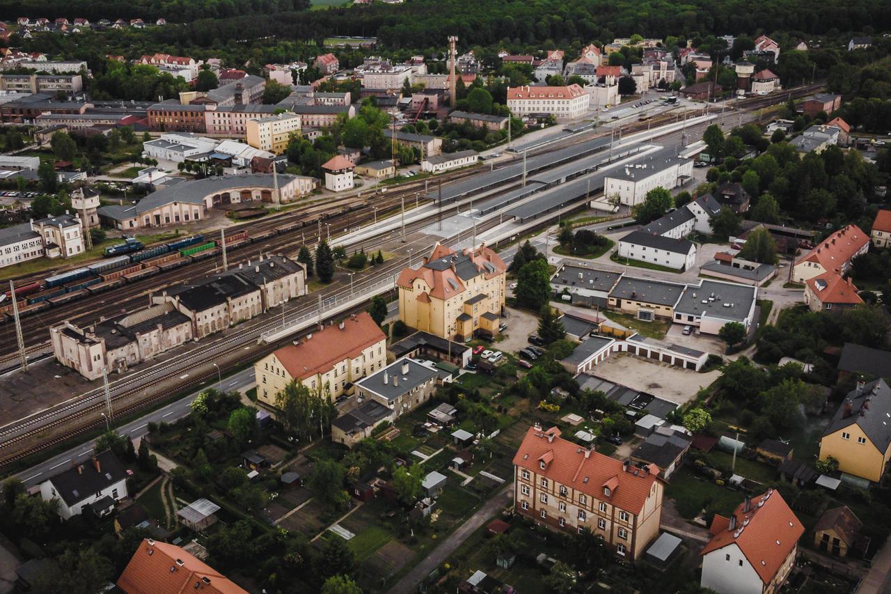 Jaworzyna Śląska, 2020 rok, fotografia z drona