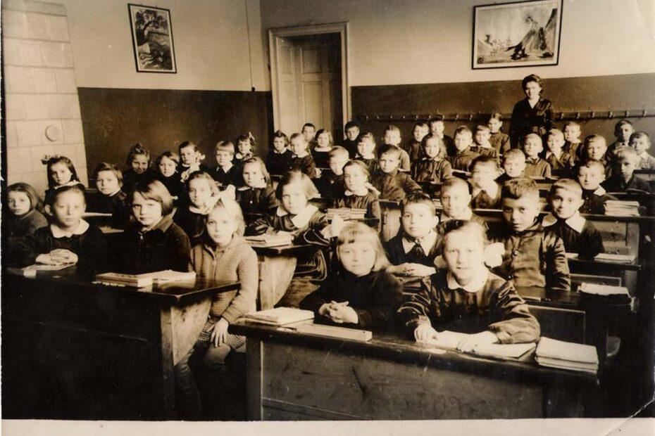SP Piotrowice Świdnickie szkoła 1960 1961