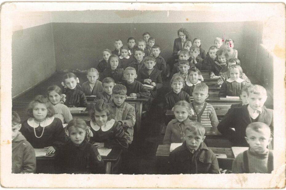 klasa IIa Jaworzyna Śląska szkoła 1959