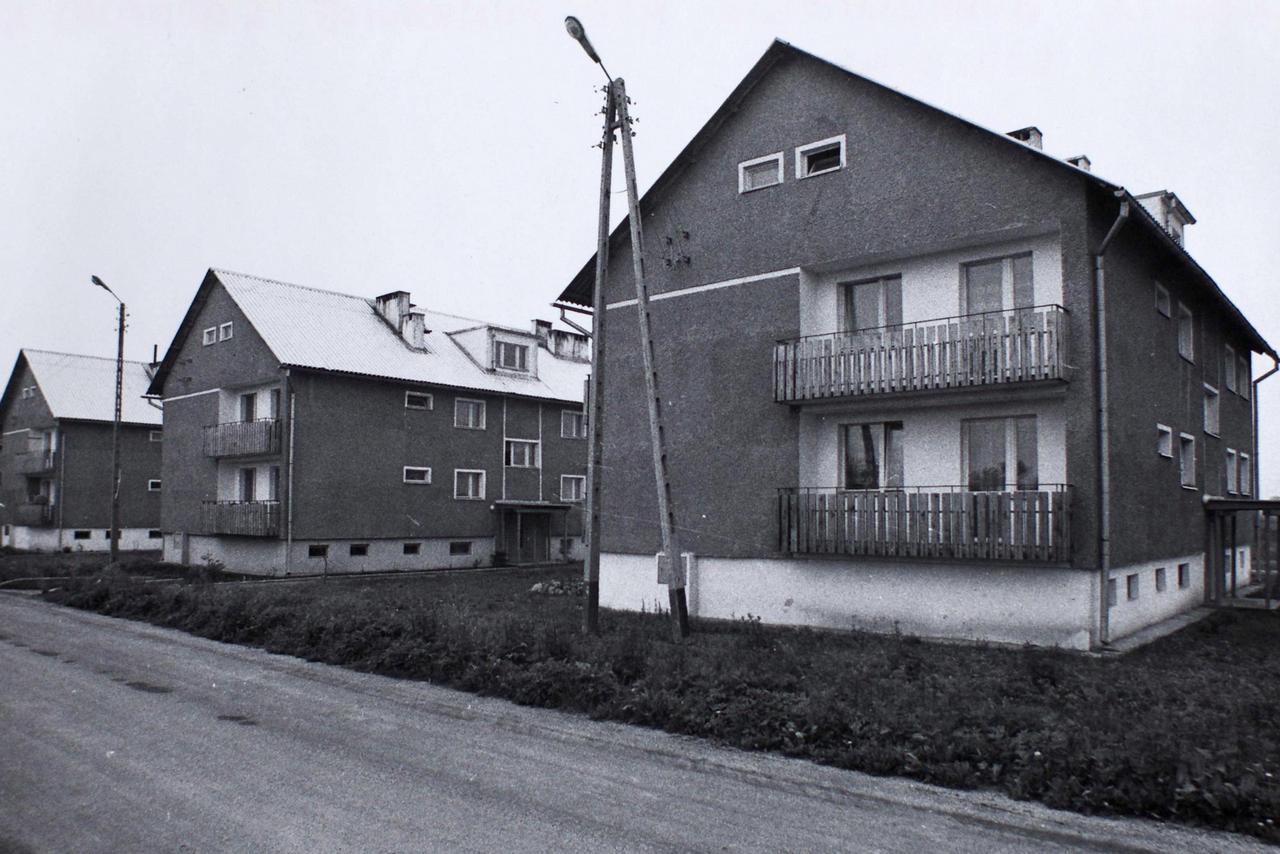 Nowice, budownictwo mieszkaniowe lata 80. XX wieku