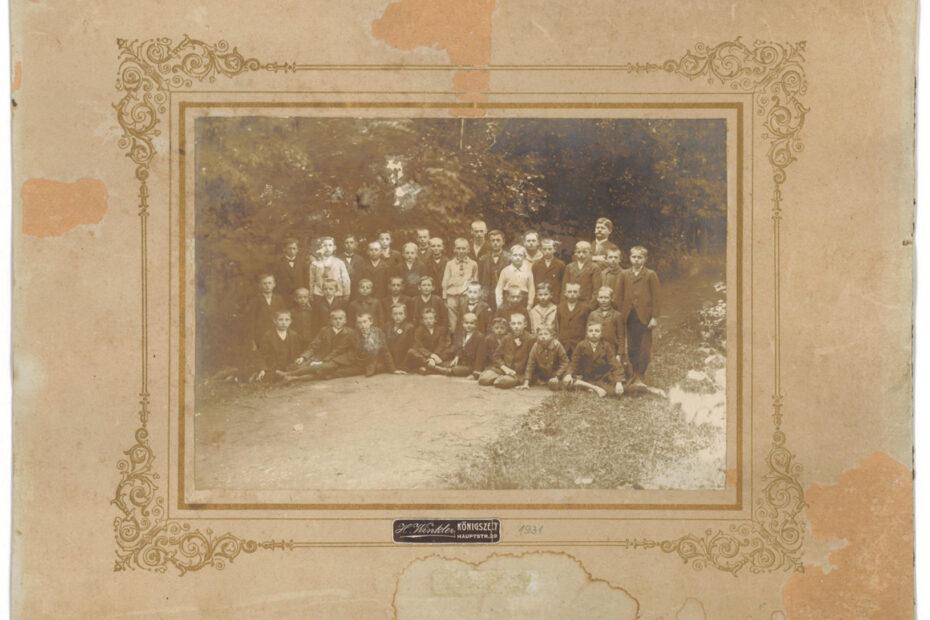 Uczniowie szkoła podstawowa jaworzyna śląska koenigszelt 1931