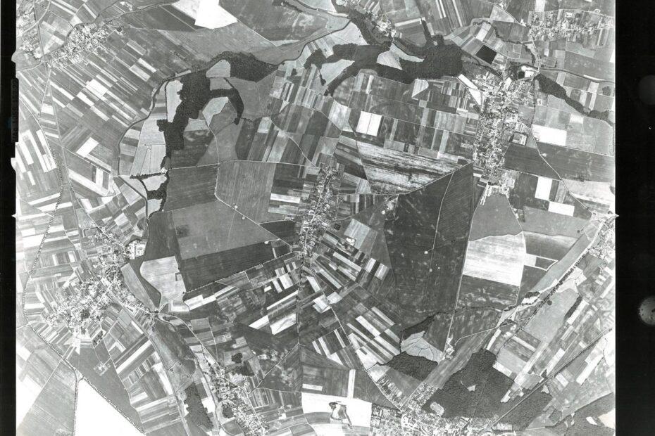 Gmina Jaworzyna Śląska zdjęcia lotnicze 1994