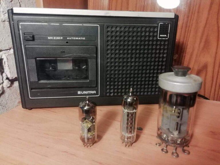 Magnetofon i lampy elektronowe