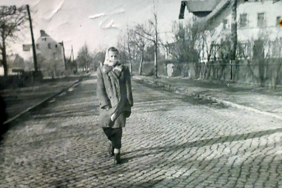 ulica wolności w Jaworzynie Śląskiej lata 60. xx wieku
