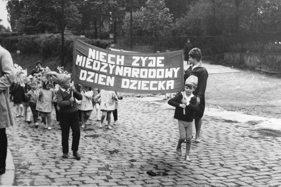 Dzień Dziecka przedszkole Jaworzyna Śląska 1965
