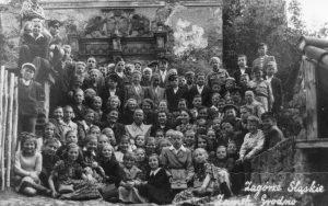 Szkoła Podstawowa w Pastuchowie wycieczka 1949 1950