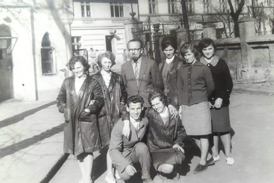 Pracownicy ZHAPL w Jaworzynie Śląskiej 1960/70