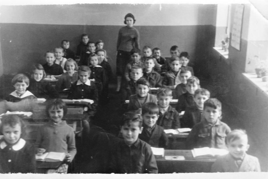 Klasa IId SP Jaworzyna Śląska rok szkolny 1958/59