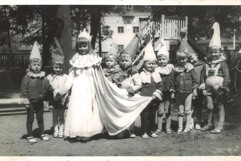 Dzieci, Przedszkole PKP w Jaworzynie Śląskiej 1965