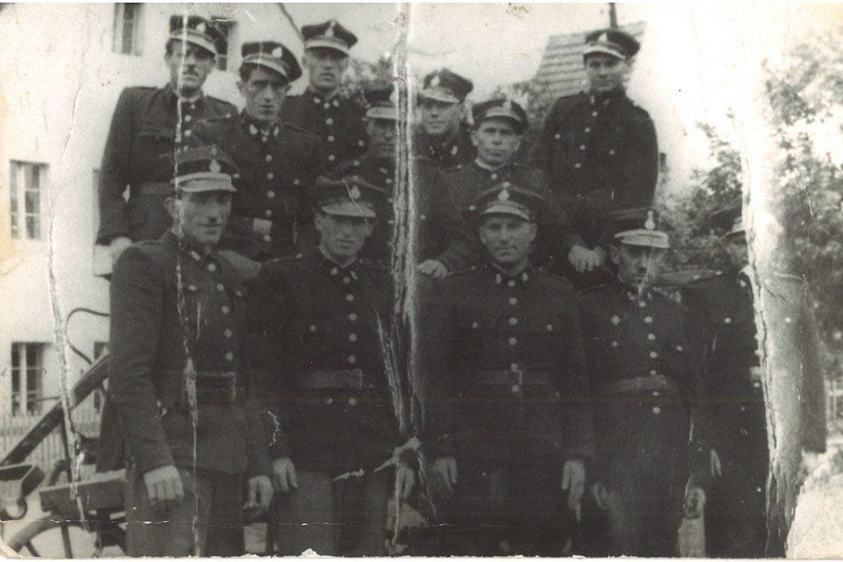 straż pożarna Nowice 1948 r.