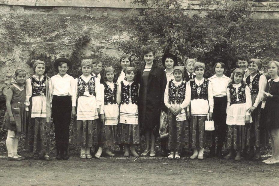 Dzieci ze Szkoły Podstawowej w Nowicach