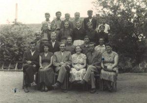 Szkoła Podstawowa w Pastuchowie absolwenci i nauczyciele1956 1957